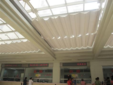 buy fcs folding skylight blinds system  public sunshade building pricesizeweightmodel