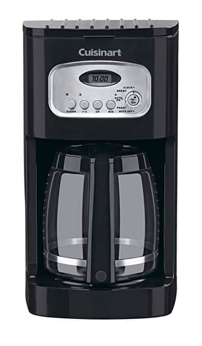 The amount of coffee you use when preparing yourself a cup of coffee determines the flavor and strength of your cup. Cuisinart DCC-1100BK 12-Cup Programmable Coffeemaker Review