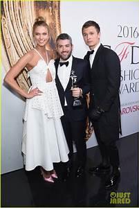 Julianne Hough & Ansel Elgort Go Glam for CFDA Awards 2016 ...