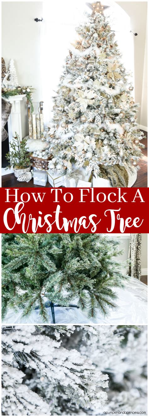 where to buy tree flocking how to flock a tree