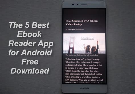 the 5 best ebook reader app for android free