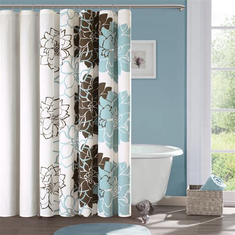 nature shower curtain effort  bring nature awe homesfeed