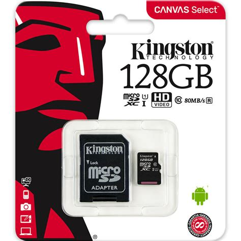 kingston gb micro sd sdxc microsd tf class    gb