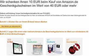 Amazon Gutschein Prüfen : 40 euro amazon gutschein 10 euro geschenkt ~ Markanthonyermac.com Haus und Dekorationen