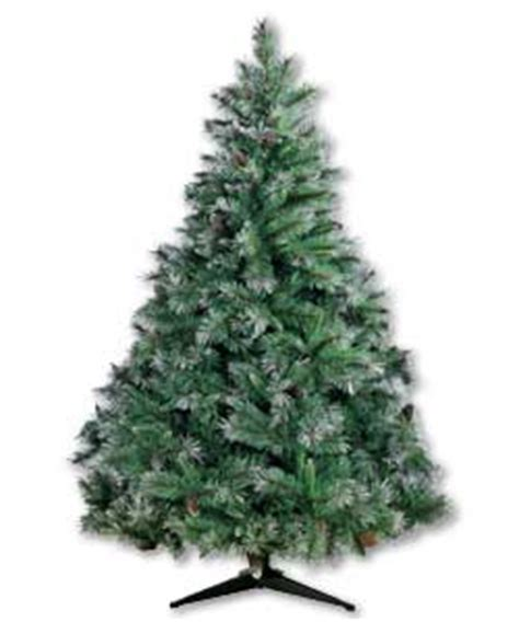 6ft Christmas Tree by 6ft Deluxe Frosted Christmas Tree Review Compare Prices