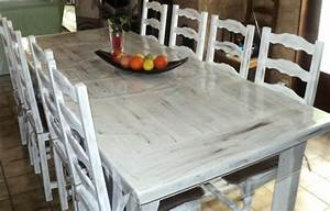 Mobilier table peinture pour table en bois for Peinture pour table en bois