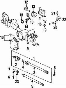 Dodge Ram 2500 Differential Vent Hose  2wd  Upper  4wd