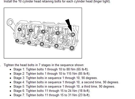 Ford 6 7 Specs by Could You Tell Me The Torque Specs And Sequence For A F350