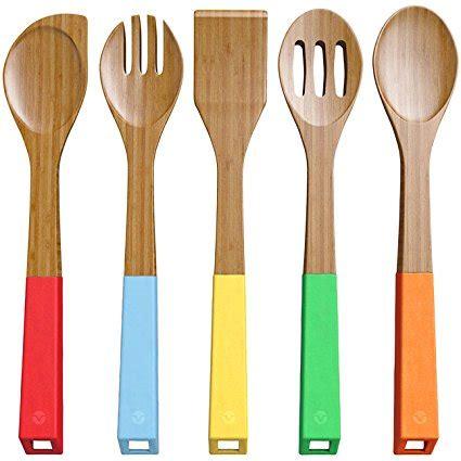 kitchen utensils bamboo
