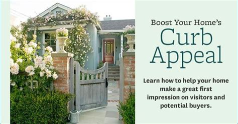 Boost Your Homes Curb Appeal  Gardening Pinterest