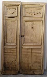 e2v 12 porte d39entree 2 vantaux tierce en chene With porte entrée 2 vantaux