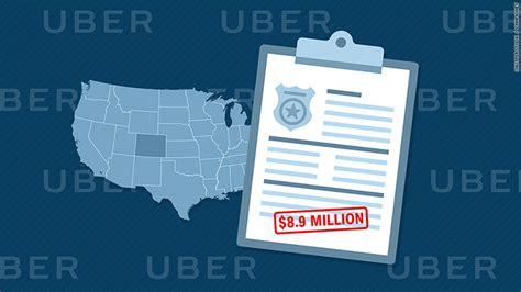 Colorado Background Check Uber Fined 8 9 Million In Colorado For Problematic