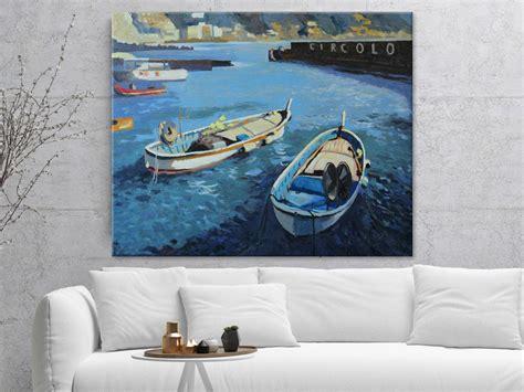 """Beach House Wall Art Canvas Print  """"circolo"""" Healing"""