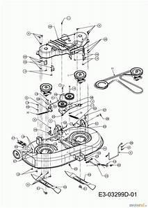 Lt 2000 Mower Deck Diagram