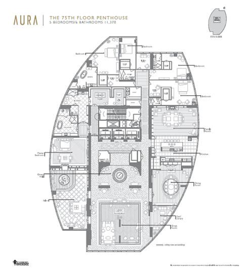 spectacular residential home plans penthouse floor plans spectacular residential tower with