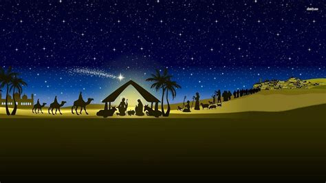 Nativity Scene Backgrounds  Wallpaper Cave
