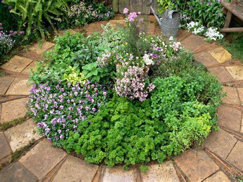 how to make an herb garden how to create an herb circle hgtv