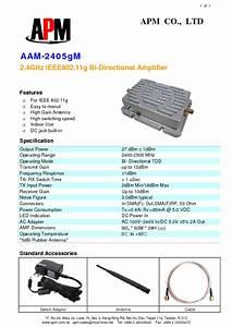 Aam-2405gm Manuals