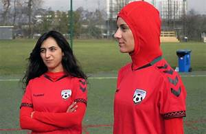 Afghani women's team gets jersey with integrated hijab ...