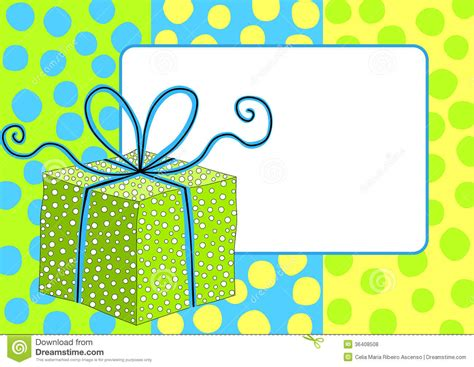 gift box frame border royalty  stock  image