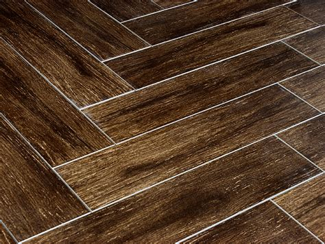 prestige walnut 6x24 polished wood plank porcelain