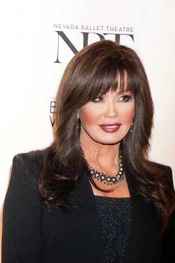 hairstyles marie osmond long layered hairstyle with bangs