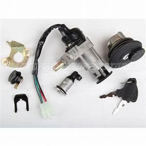Ignition Switch Key Set Kit For Gy6 50cc 125cc 150cc Moped