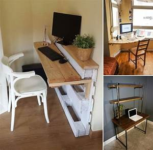 10, Creative, Diy, Computer, Desk, Ideas, For, Your, Home