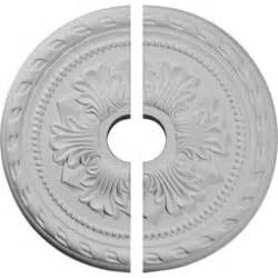 medium split ceiling medallions two piece shop diy