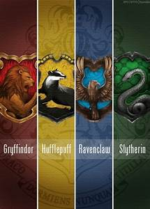 #Gryffindor #hufflepuff #ravenclaw #slytherin #love #hp # ...