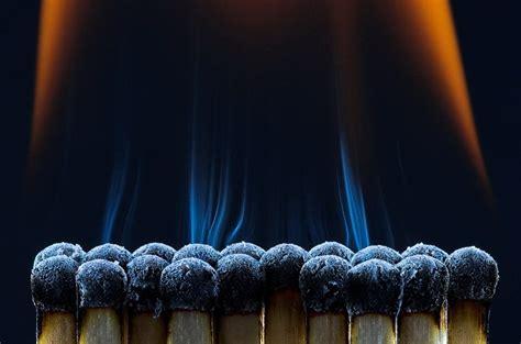 stunning macro photography  fire  photoz
