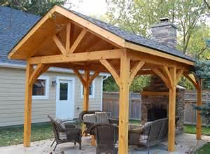Timber Frame Pavilion Gazebo Plans