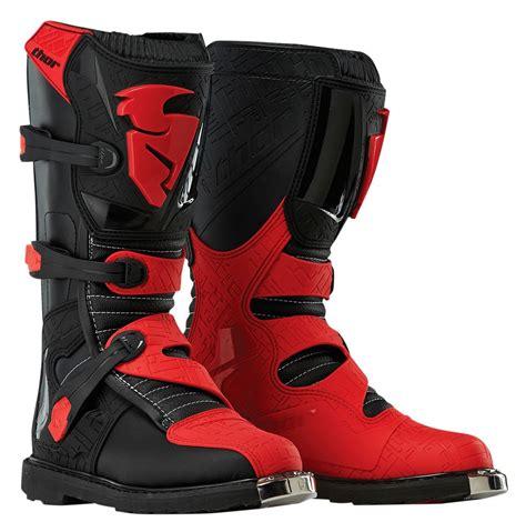 motocross motorcycle boots thor blitz boots revzilla