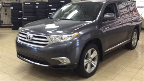 2012 Toyota Highlander Limited Review