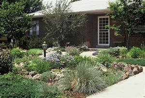 no grass garden ideas for shallow front yard to make it With no grass garden ideas