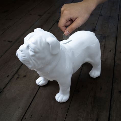 guard dog money box  green head