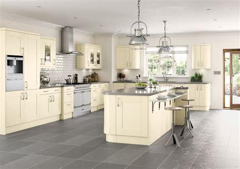 ivory shaker kitchen cabinets cartmel ivory or colour match polaris kitchens 4886