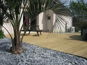 album terrasse bois arbor mineral paysagiste With charming amenagement petit jardin avec terrasse 4 creation et amenagement de terrasse en bois paysagiste