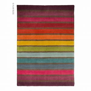tapis laine tufte main multicolore candy flair rugs 120x170 With tapis laine multicolore