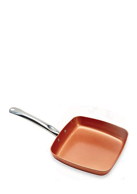 copper chef   square fry pan belk