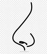 Nose Coloring Clipart Calligraphy Pinclipart Ose Clip Cliparts sketch template