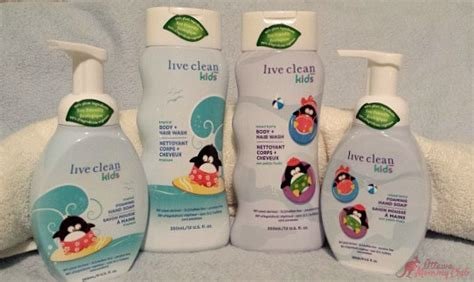 Get Clean With The Live Clean Collection Of Products