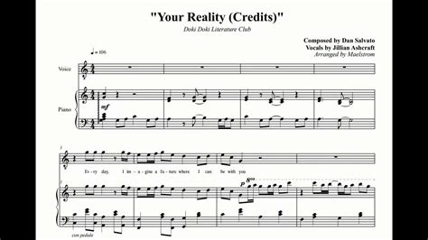 arrangement literature club your reality credits youtube