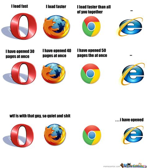 Internet Browsers Meme - image gallery internet browser meme