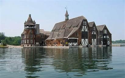 Castle Boldt Boathouse Islands Wallpapers Thousand Inside