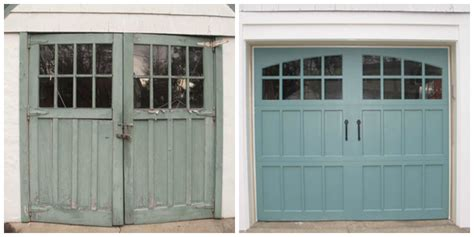 precision garage door of seattle before and after