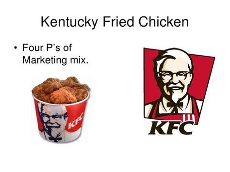 phone number for kentucky fried chicken 19080033 kentucky fried chicken kfc marketing mix four ps