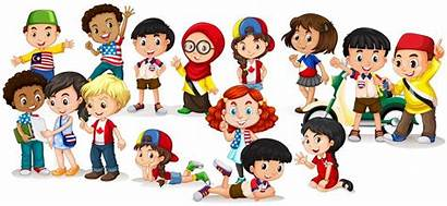 Children Clipart International Vector Illustration Cartoon Graphics