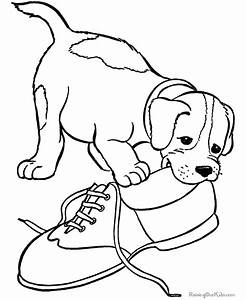 Pet puppy coloring pages from RaisingOurKids.com http ...