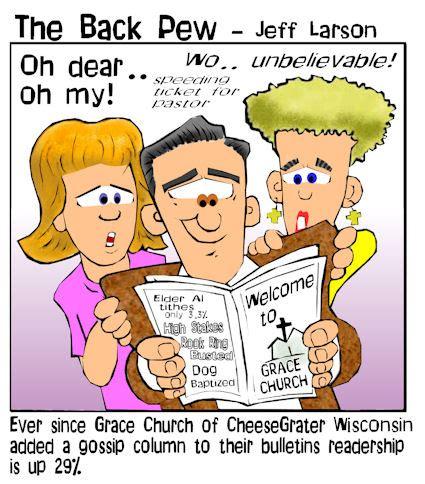 church cartoons   pew bp